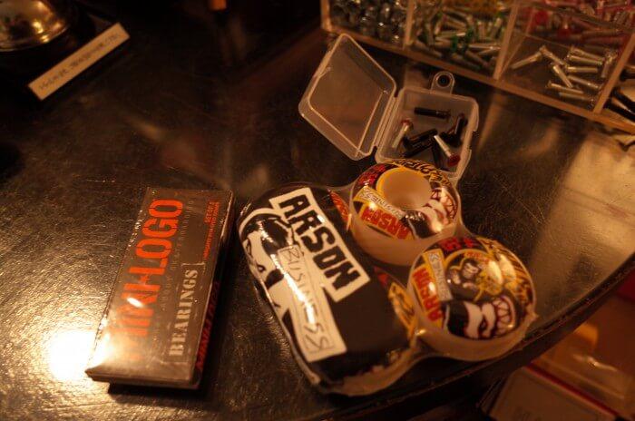 ウィール&ベアリング&ビス&グリップテープ