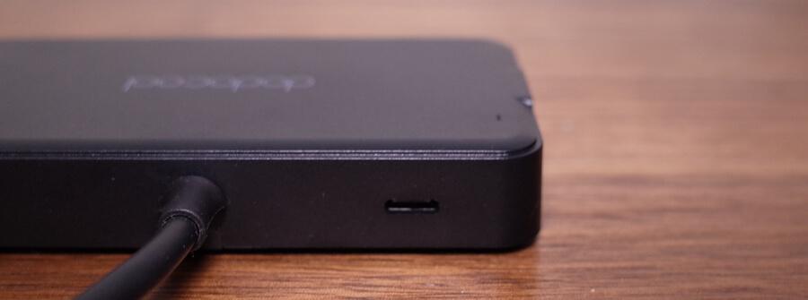 USB 3.1(タイプC) 電源供給充電ポート×1