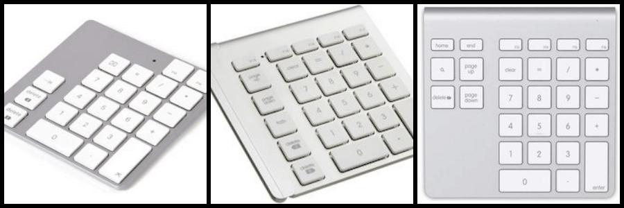 Mac対応 Bluetoothテンキー