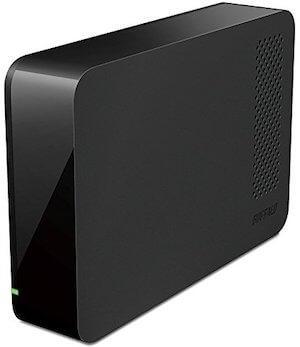 1位BUFFALO USB3.0 3TB HD-LC3.0U3/N