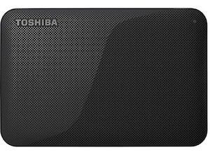 東芝 CANVIO BASICS ポータブルHDD 1TB(HD-AC10TK)