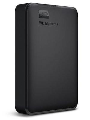 WD Elements ポータブルHDD 2TB(WDBU6Y0020BBK-WESN)