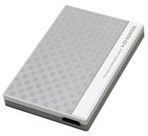 I-O DATA ポータブルHDD 1TB(EC-PHU3W1)