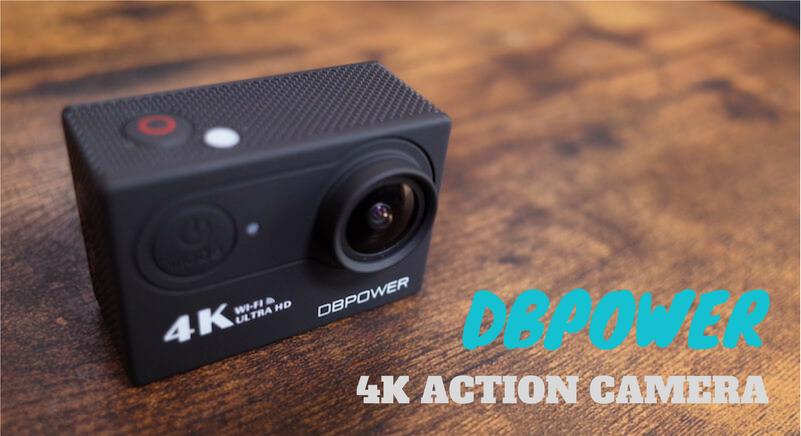 DBPOWER 4K アクションカメラ レビュー