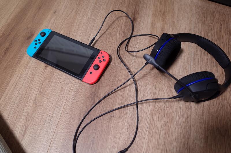 Nintendo Switchで使用する場合