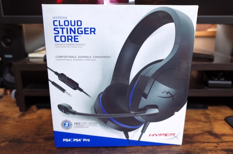 『HyperX Cloud Stinger Core』外箱