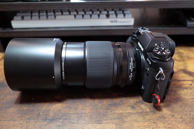 『FUJINON XF80mm F2.8 R LM OIS WR』レンズフード