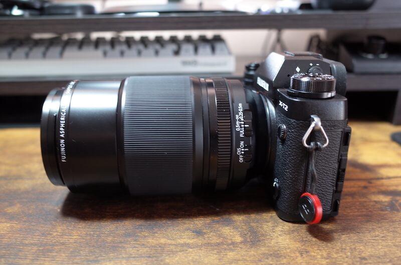 『FUJINON XF80mm F2.8 R LM OIS WR』デカイ