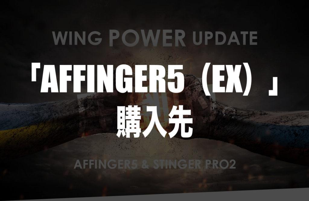 「AFFINGER5(EX)」の購入先