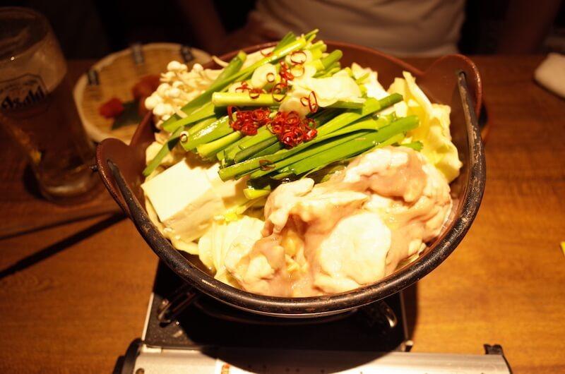 福岡といえばモツ鍋