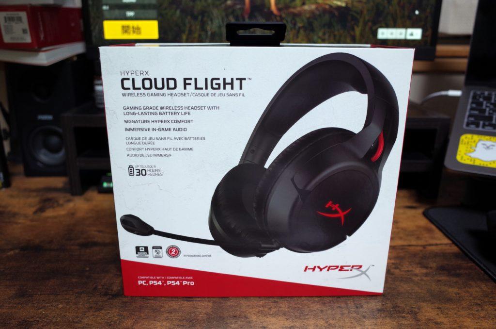 HyperX「CLOUD FLIGHT」実機レビュー