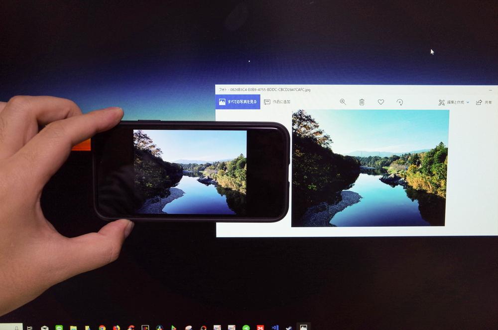 「PV270」と「iPhoneXS」の違い