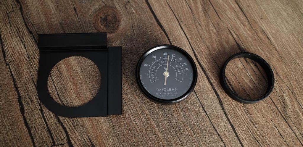 湿度計の取り付け方法