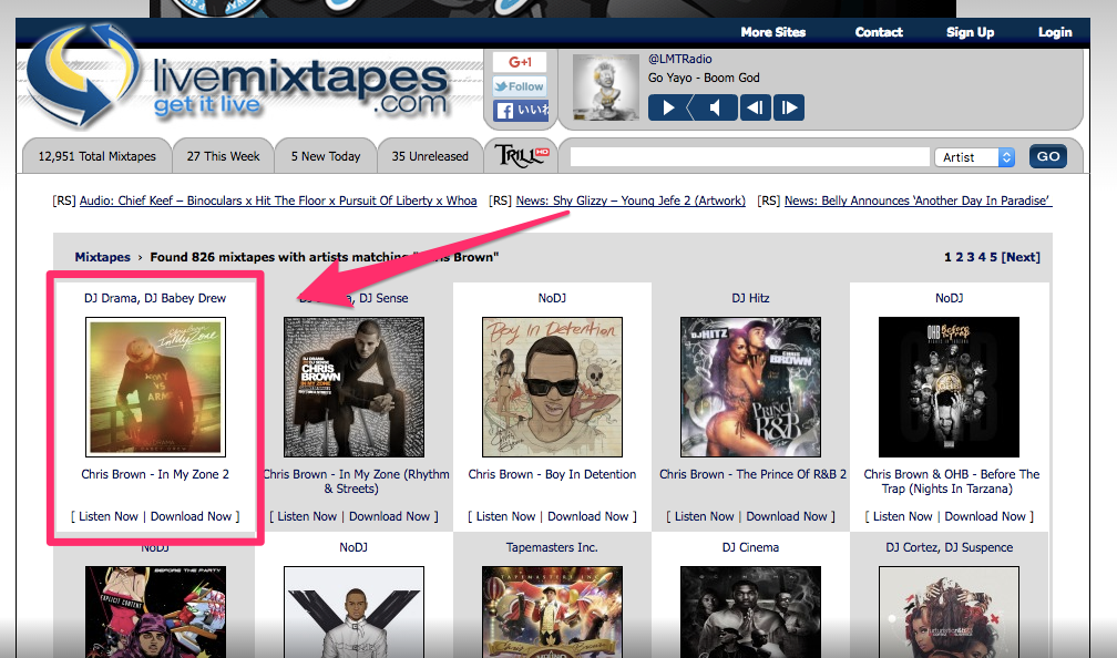 liveMIXTAPES.COM