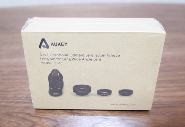 『AUKEY PL-A3』外箱