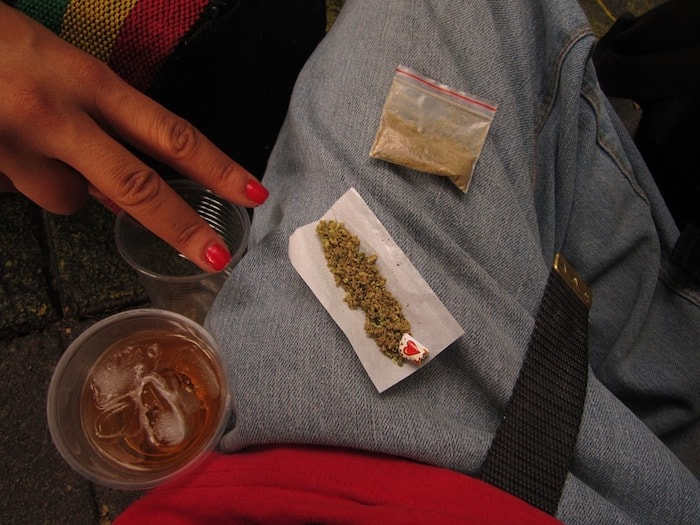 大麻の違法ライン