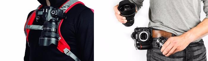 Peak Design キャプチャープロカメラクリップ 使用例
