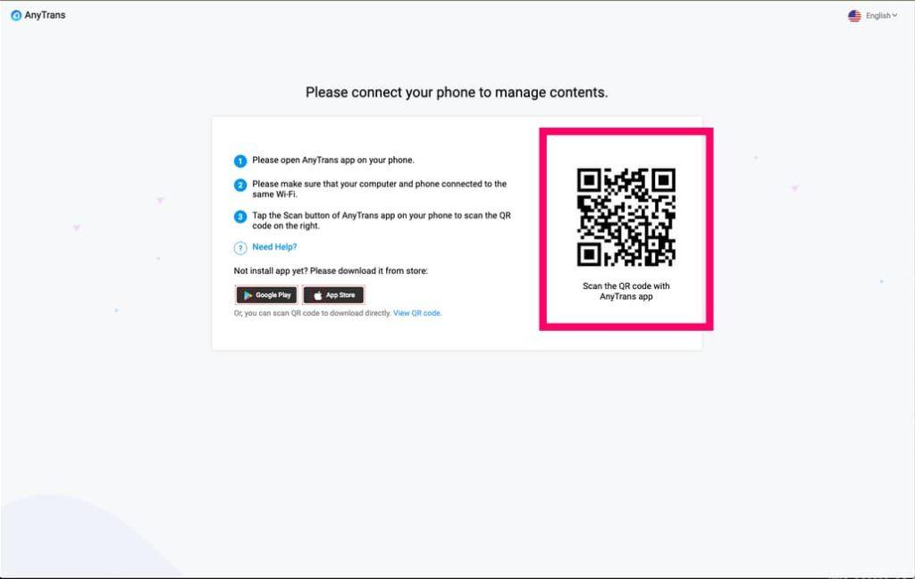 Web版に接続してWifi転送を行う手順