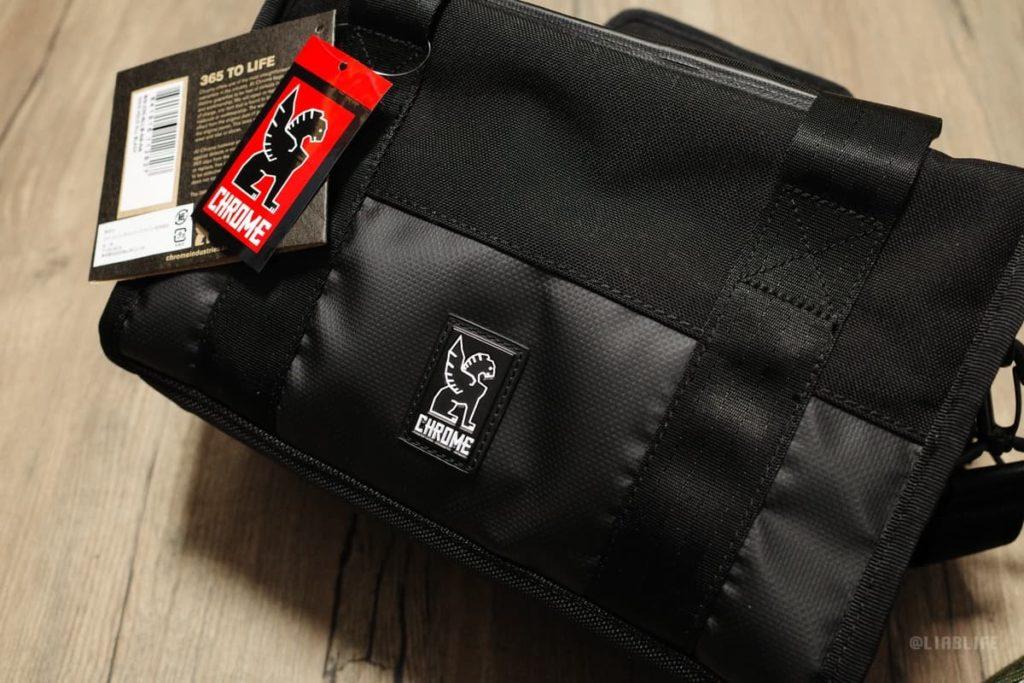 よくあるこのタイプのバッグとは一線を画すビジュアル。