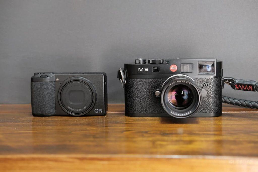 「Leica M9」と比べてもこんなに違います