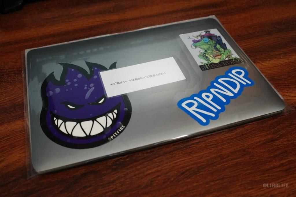 修理から帰ってきたMacBook Pro