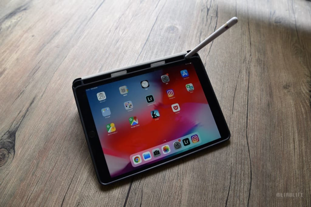 Padケースはアップルペンシルを収納できるタイプ