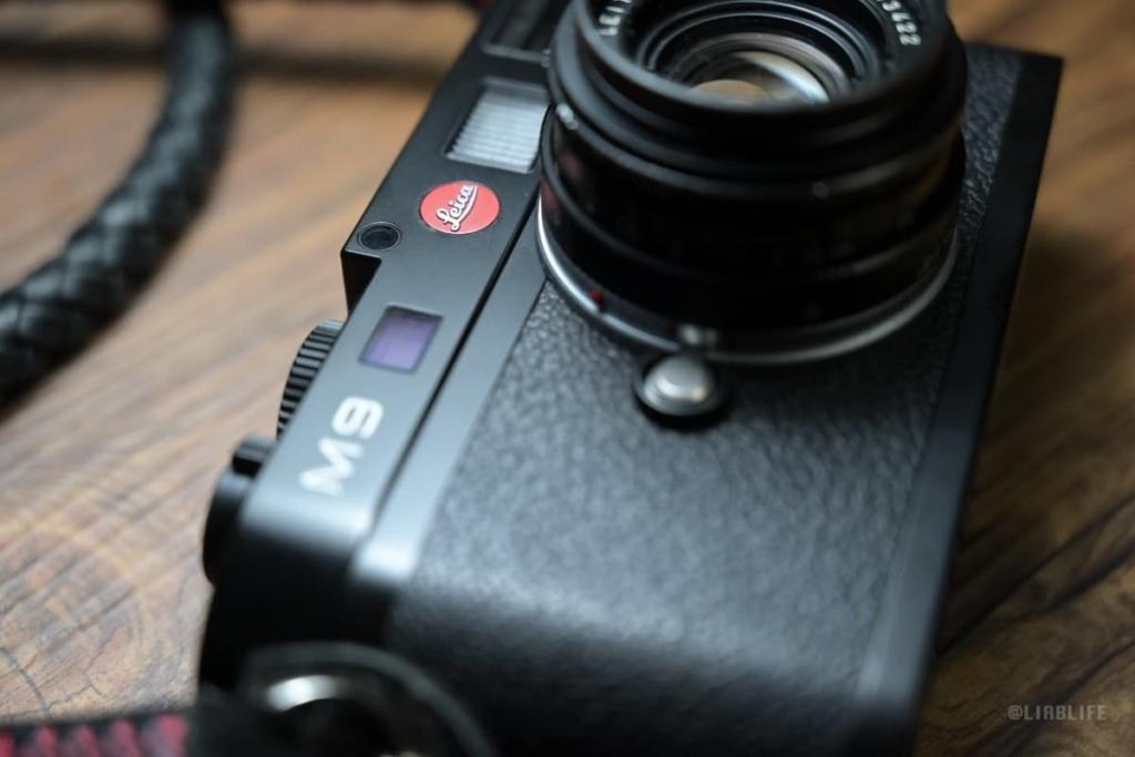 leica m9の赤バッジ