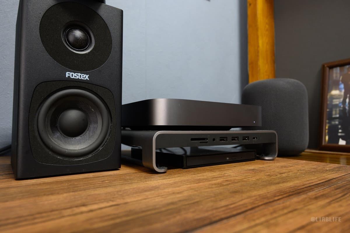 メインで使用中の「Fostex PM0.3H」と聴き比べ