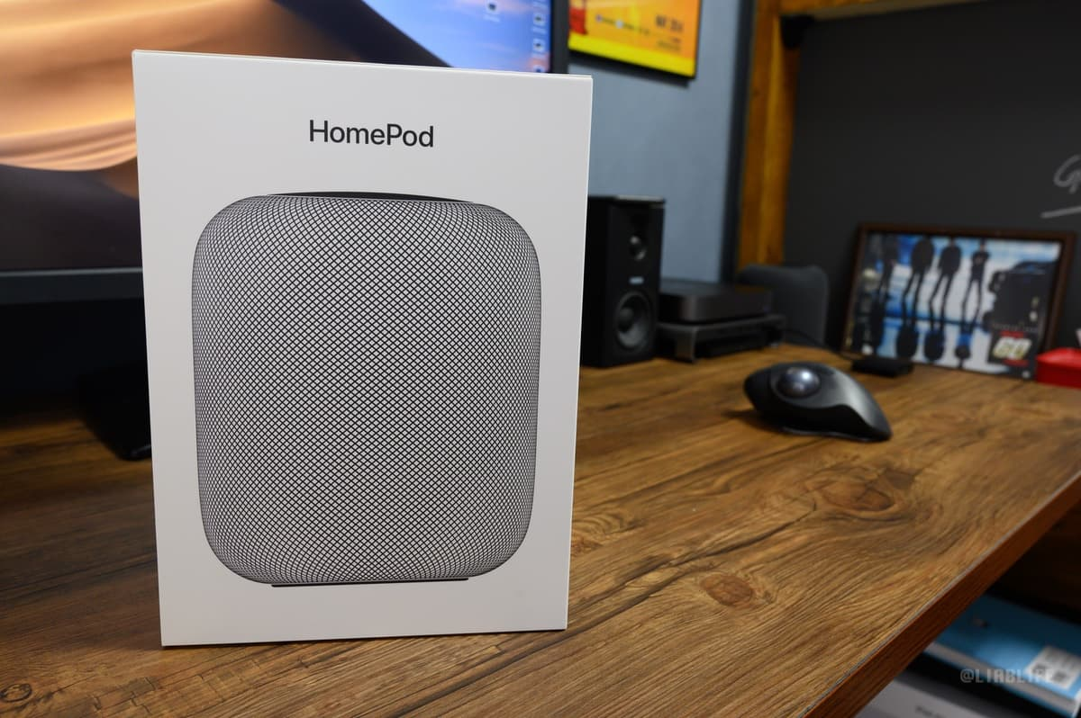 【レビュー】HomePod買った。噂通り音はいいけど、イマイチなとこもいくつかあるな〜