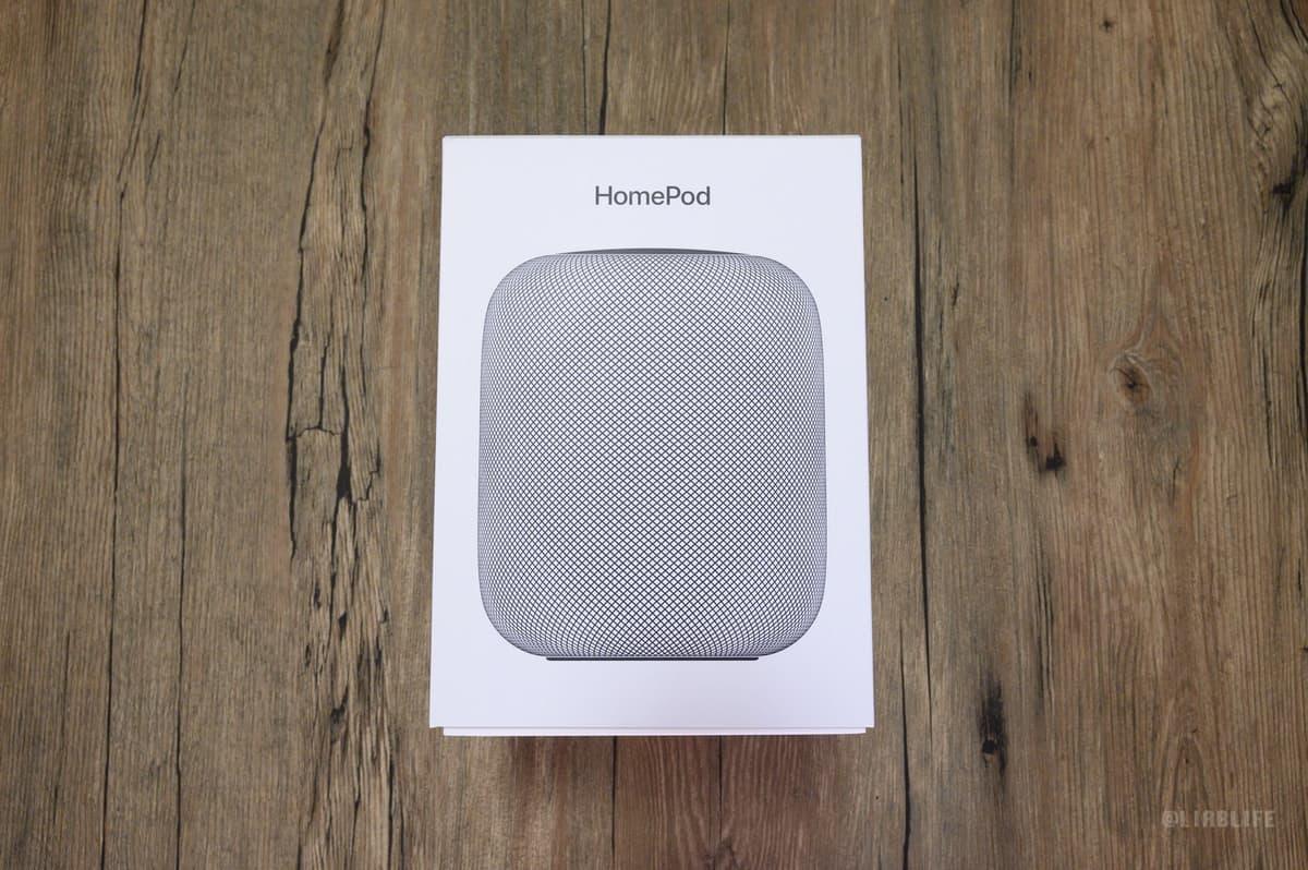 【レビュー】HomePod買った。