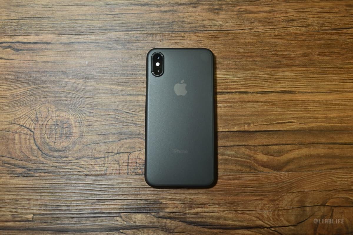 iPhoneマークも透けていてかなりいい感じではないでしょうか