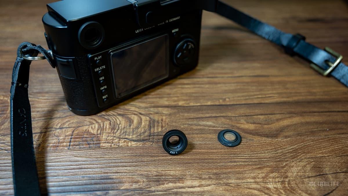 Leica M9にマグニファイヤーを取り付けてピント合わせが楽に
