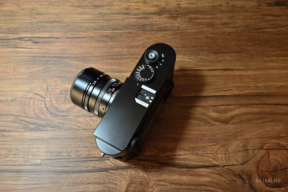 Leica M9にサムレストを装着してみた