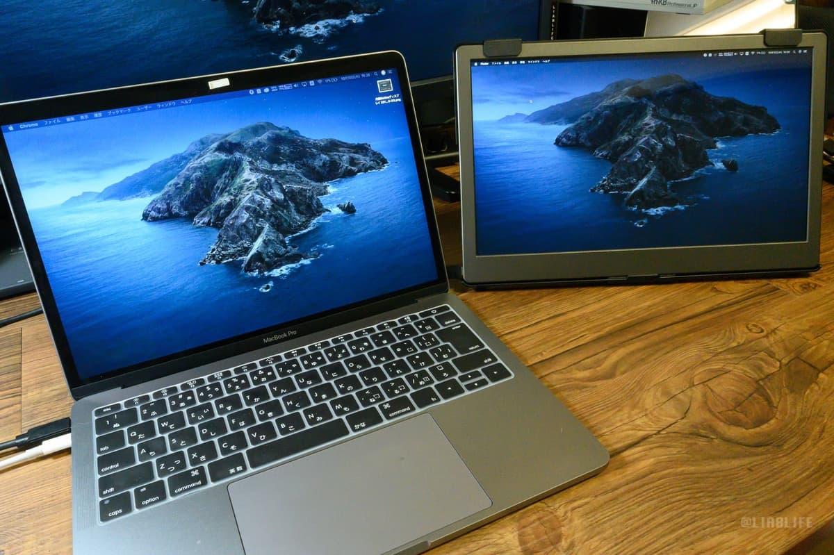 発色もMacbook Proに見劣りしないのがわかるかと思います。