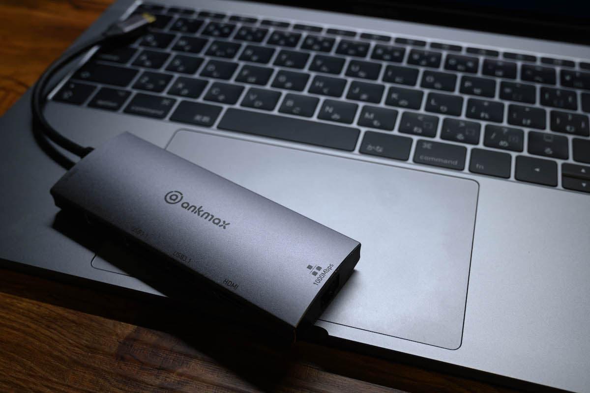 「ankmax 6in1多機能USB-Cハブ」レビューまとめ