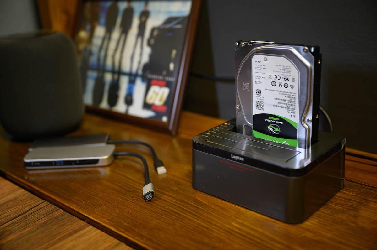 外付けHDD/SSDスタンド「LHR-2BDPU3ES」を使用するメリット