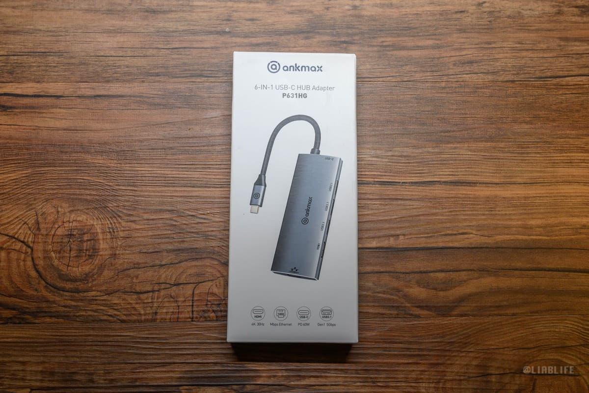 ankmax 6in1多機能USB-Cハブレビュー