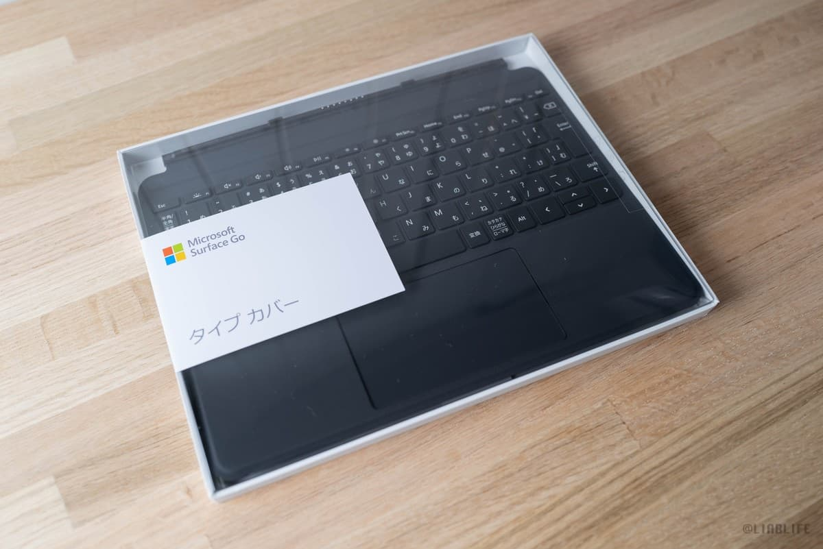「Surface go 純正タイプカバー」レビュー