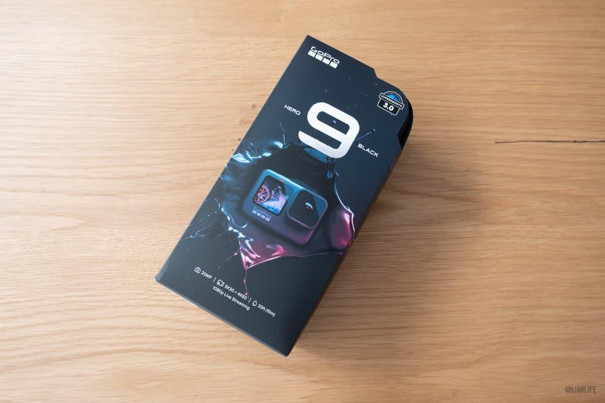 初GoPro。高鳴ります。