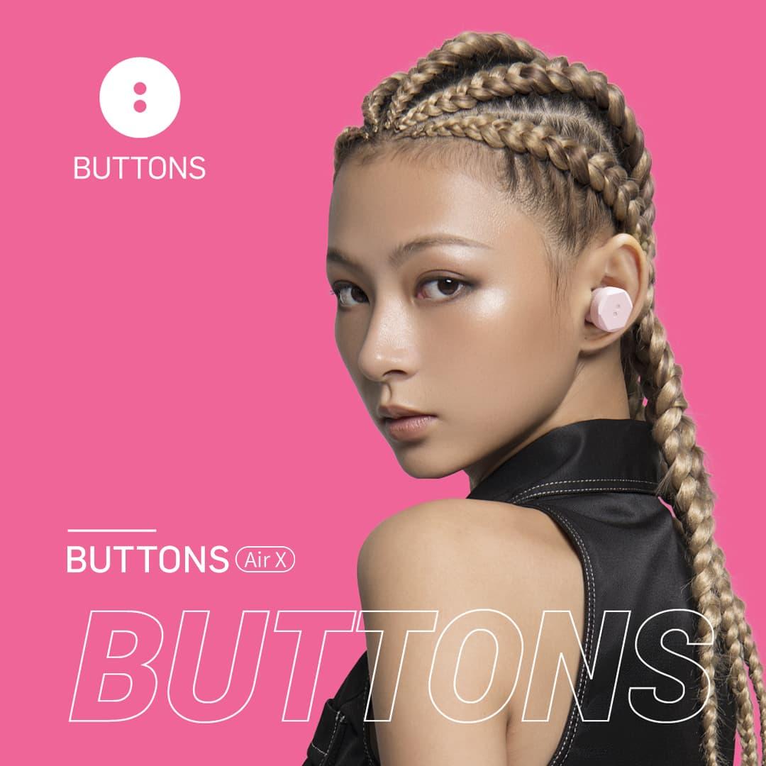 【先行レビュー】Black Eyed Peas の will.i.am がプロデュースしたワイヤレスイヤホン『BUTTONS Air X』