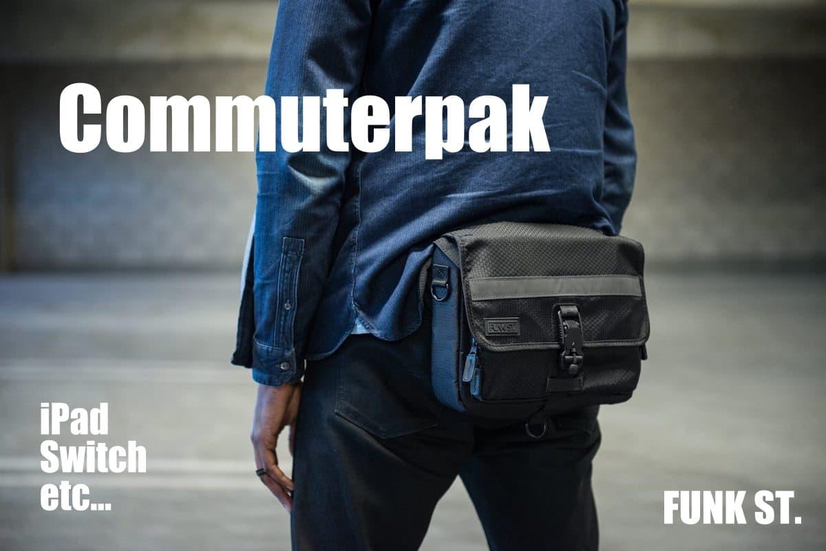 【レビュー】カリフォルニア発のiPadバッグ「Commuterpak」