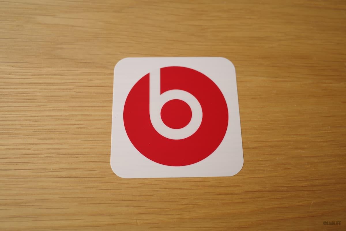 Beatsのステッカー